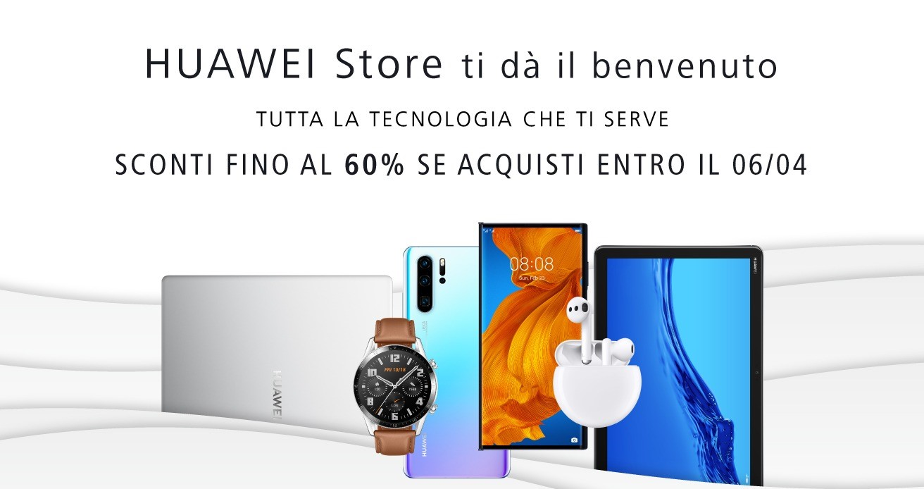Huawei e-commerce store italiano
