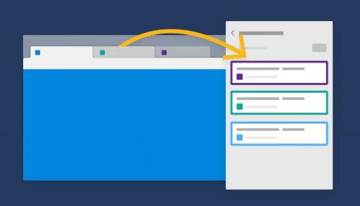 Microsoft Edge aggiungi le schede a una Raccolta
