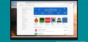 Pagina ufficiale componenti aggiuntivi Microsoft Edge