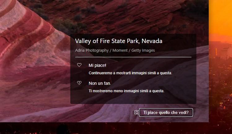 Sfondo dinamico nella pagina Nuova scheda di Microsoft Edge