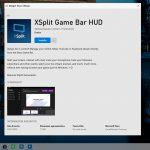 Barra di gioco Xbox pagina widget store in beta