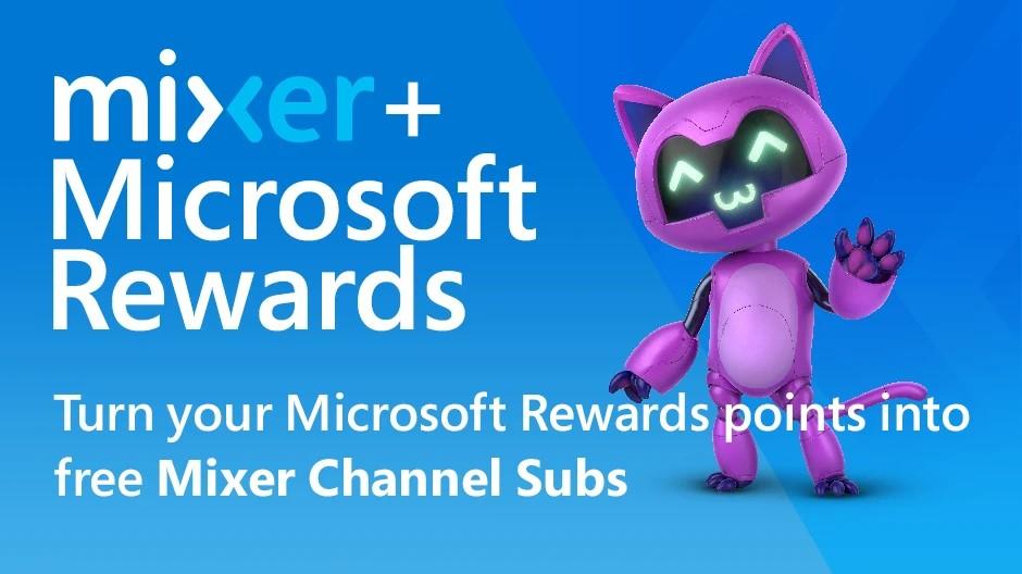 Microsoft Rewards + Mixer