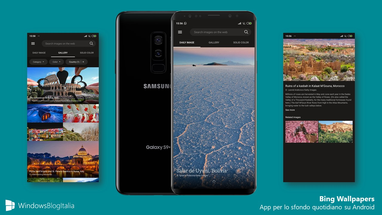 App Bing Wallpapers per Android
