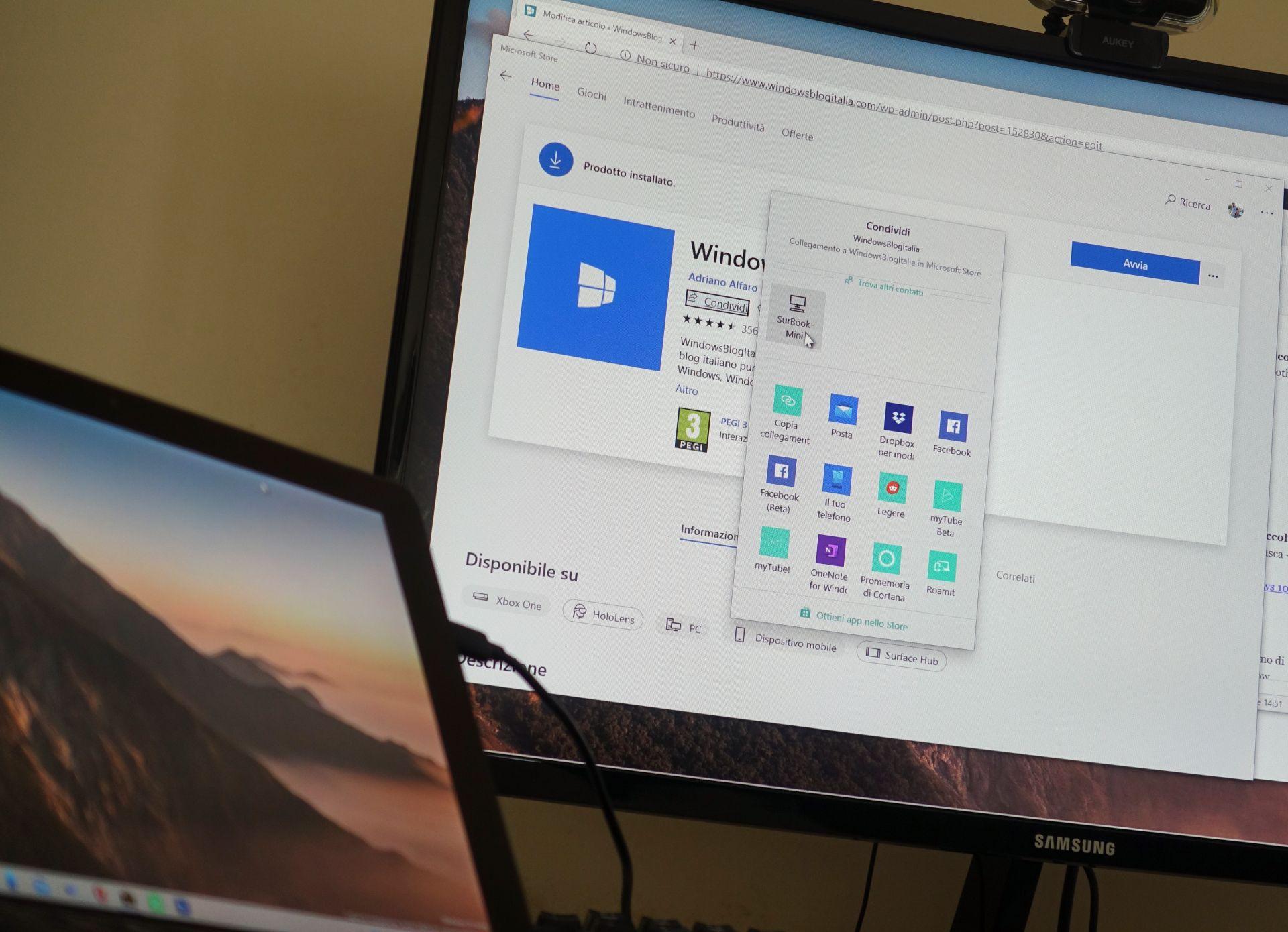 Condivisione in prossimità tra PC con Windows 10 grazie all'adattatore Bluetooth USB400 di ASUS