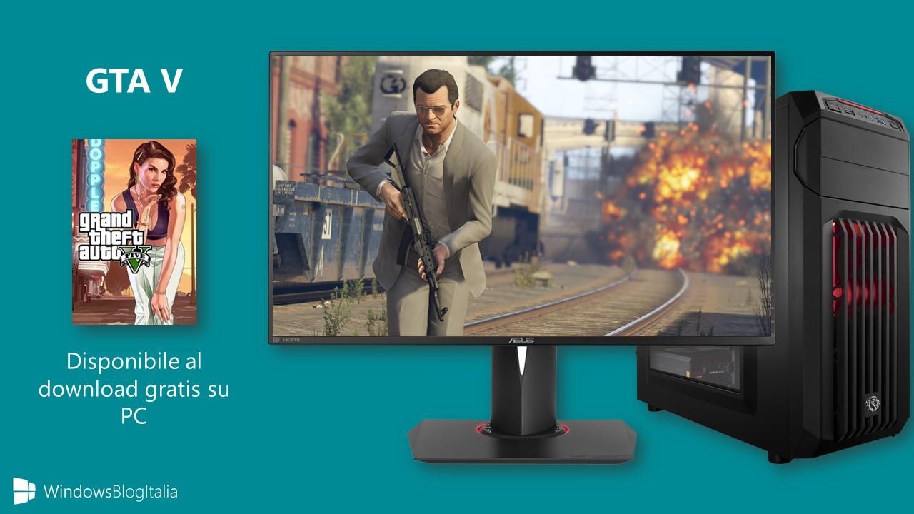 GTA V gratis per PC