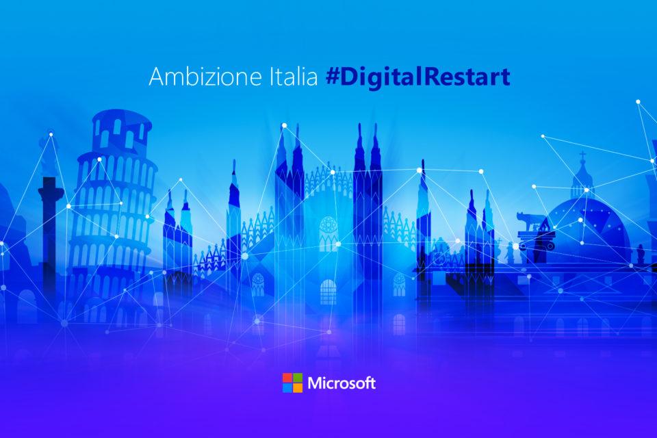 Microsoft Ambizione Italia #DigitalRestart