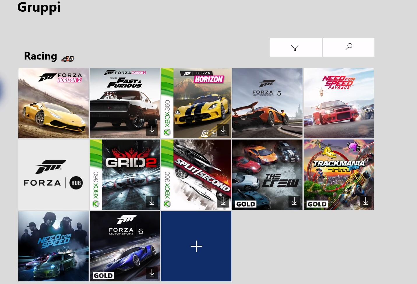 Xbox One aggiornamento di giugno 2020 tag per la provenienza dei giochi