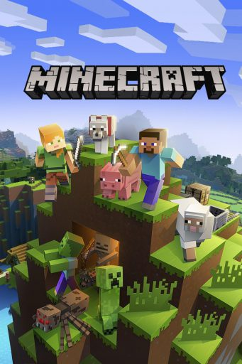 Minecraft icona gioco per Windows 10 e Xbox One
