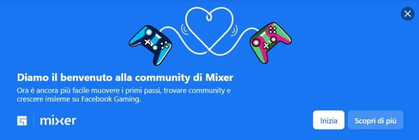 Mixer e Facebook Gaming