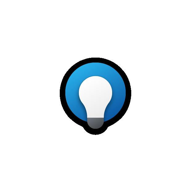 Suggerimenti Windows app per Windows 10 nuova icona