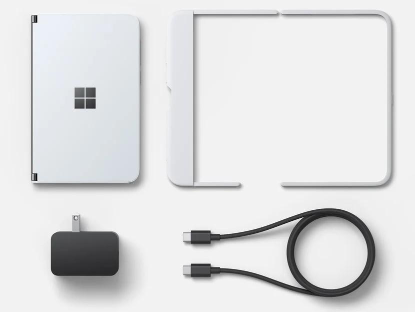Confezione Microsoft Surface Duo ufficiale