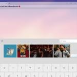Nuova tastiera con pannello emoji, GIF e cronologia appunti di Windows 10 - 2