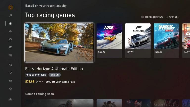 Nuovo Xbox Store per le console