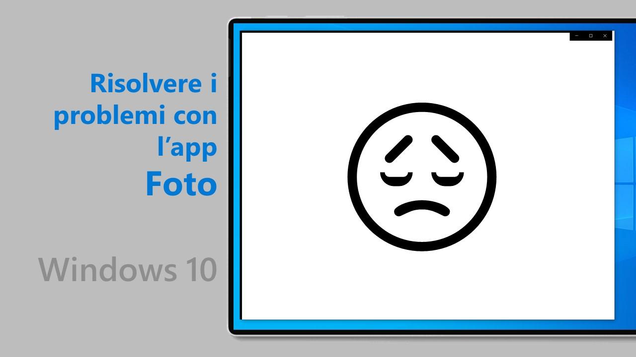 Fix problemi app Foto