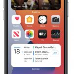 Microsoft Outlook e OneDrive widget per iOS 14 e iPadOS 14