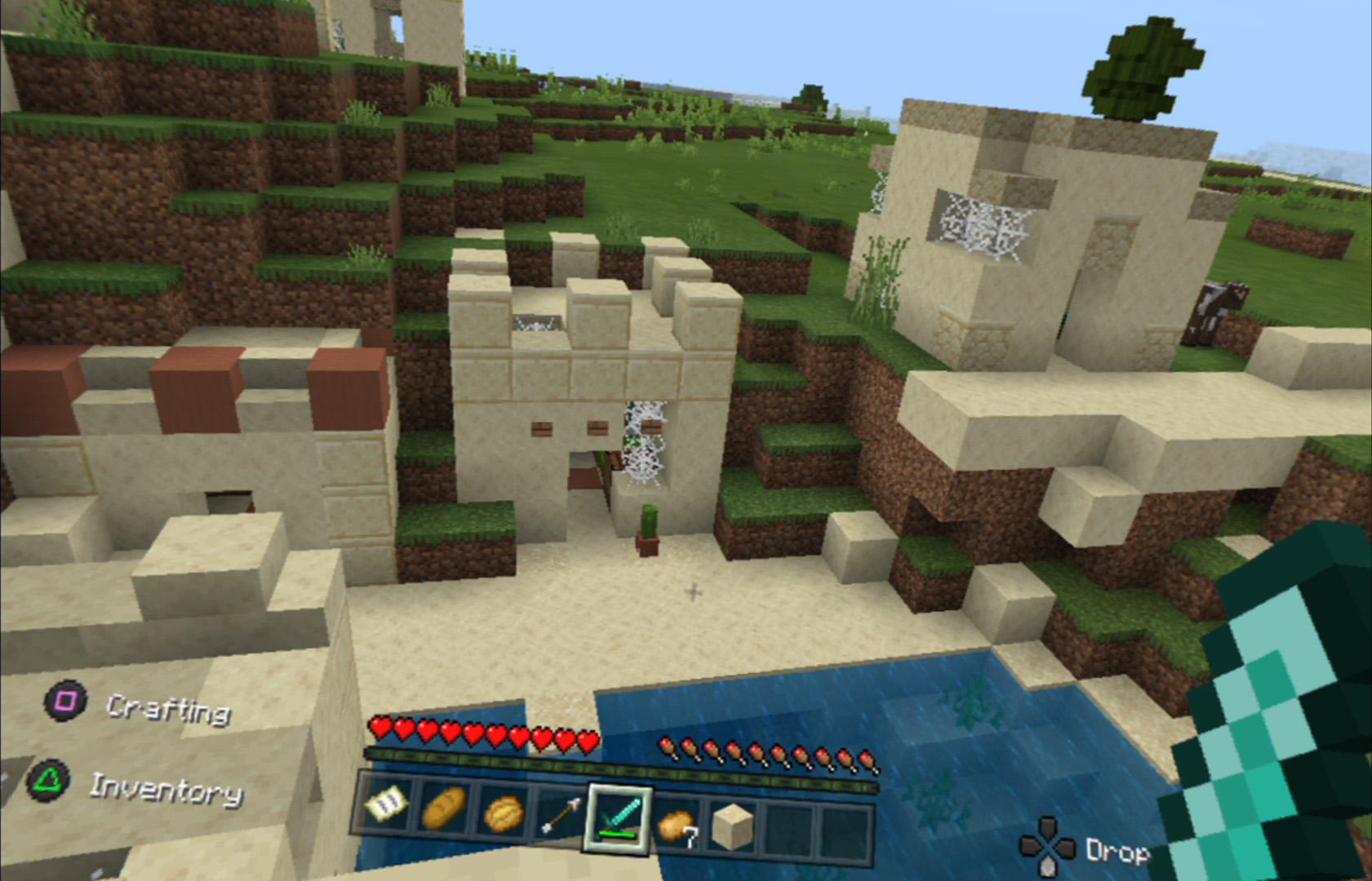 Minecraft in VR per PlayStation 4 PSVR