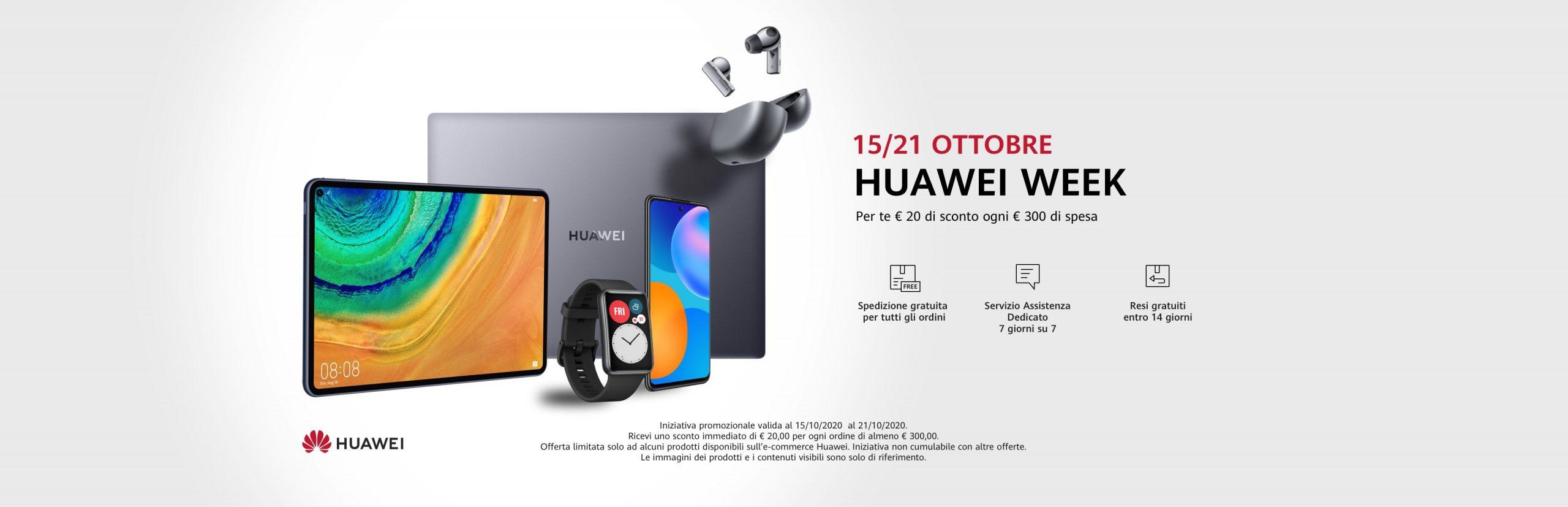 Huawei Week 15-21 ottobre 2020