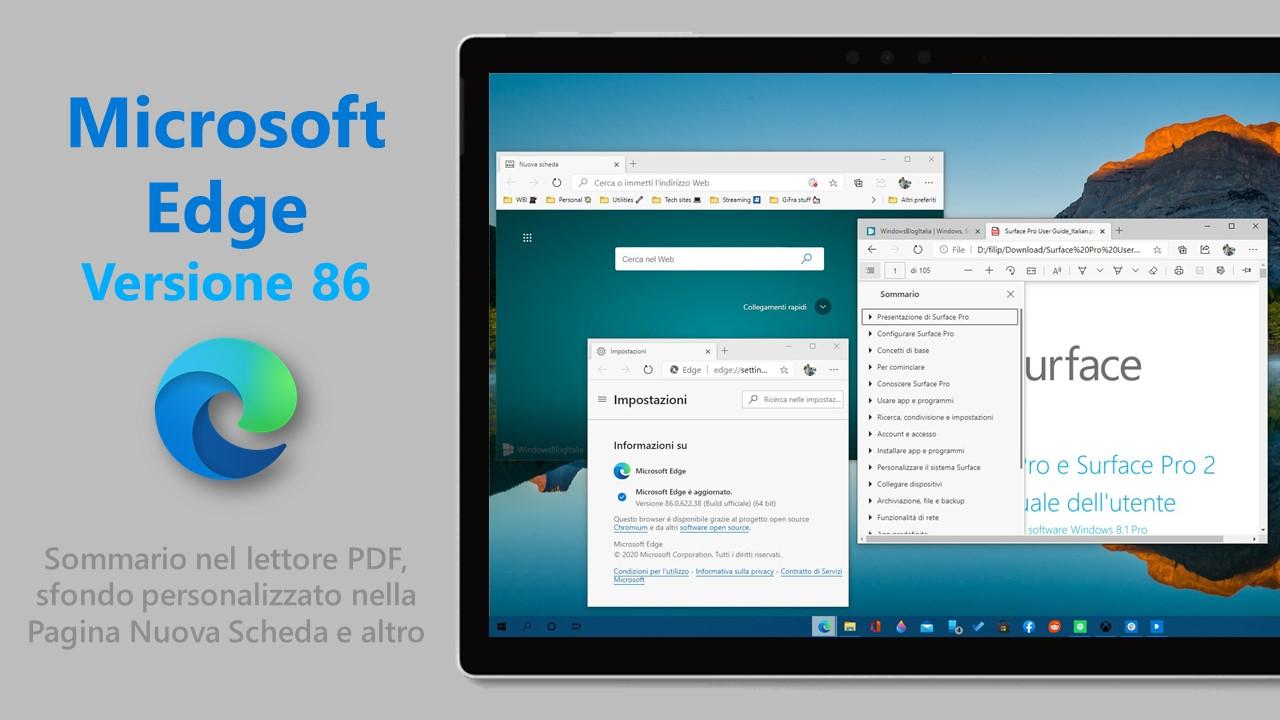 Microsoft Edge 86