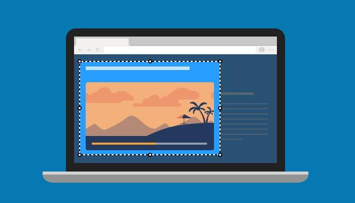 Microsoft Edge - Acquisisci schermata web