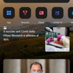 App di Bing per Android - Nuova versione Home page con tema scuro