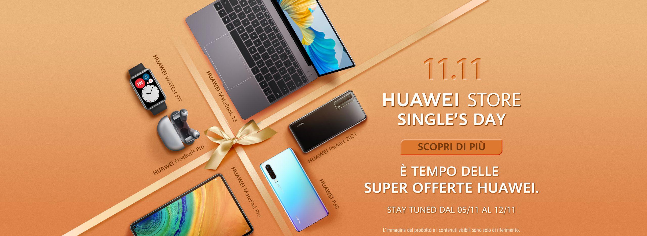 Huawei Store Single Day Promo - 11-11-2020