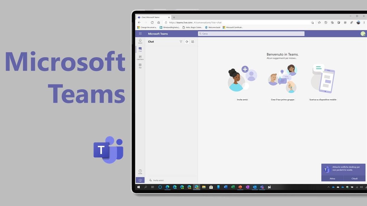 Chat e chiamate illimitate per tutti ora anche su Microsoft Teams