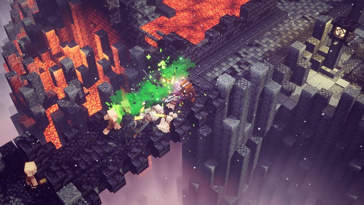 Minecraft Dungeons - Nuovo DLC - Fiamme del Nether