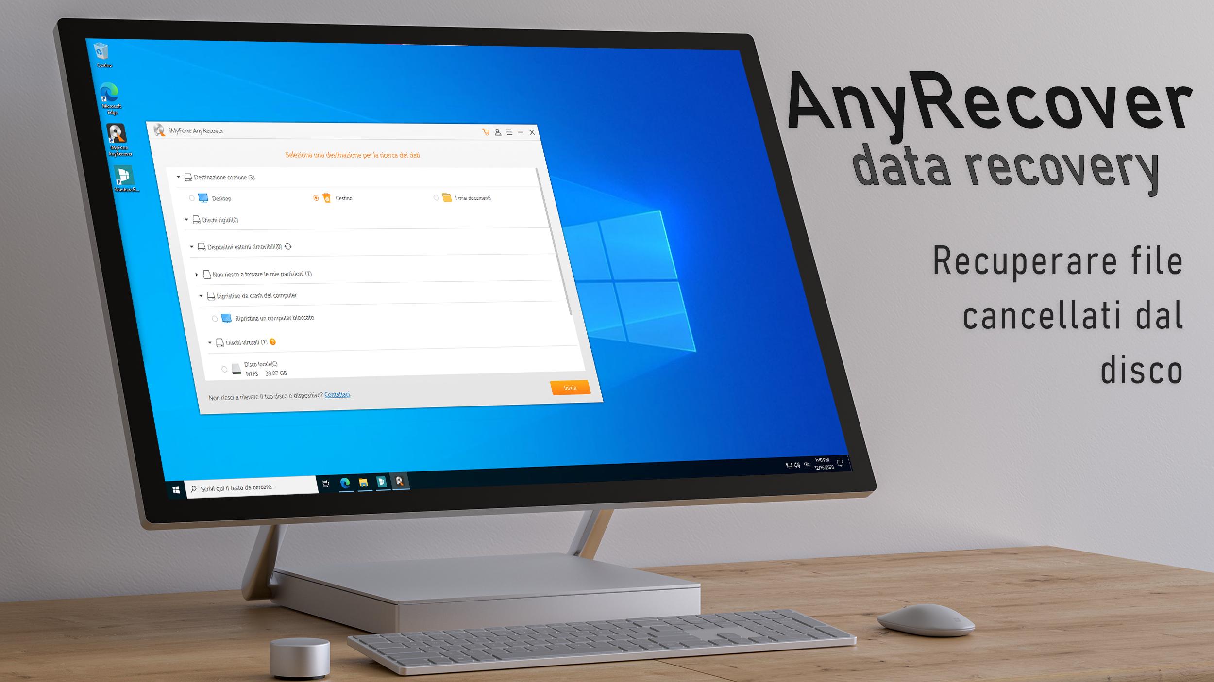 Any Recover data recovery - Recuperare file cancellati