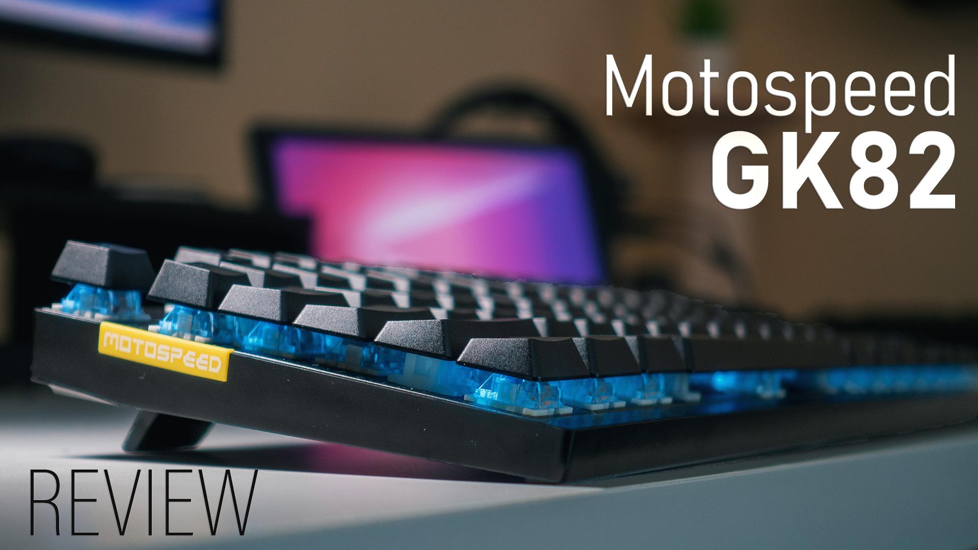 Motospeed GK82 - Hero image