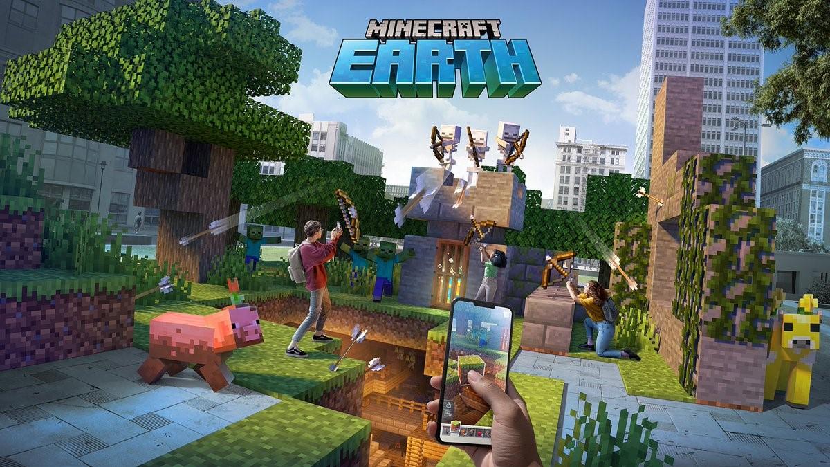 Minecraft Earth - Immagine principale
