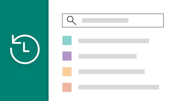 Microsoft Edge Dev - Miglioramento esperienza di ricerca di cronologia e preferiti