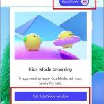 Microsoft Edge - Kids mode 2
