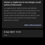 Group Transcribe - App di Microsoft Garage per iOS - Pagina principale