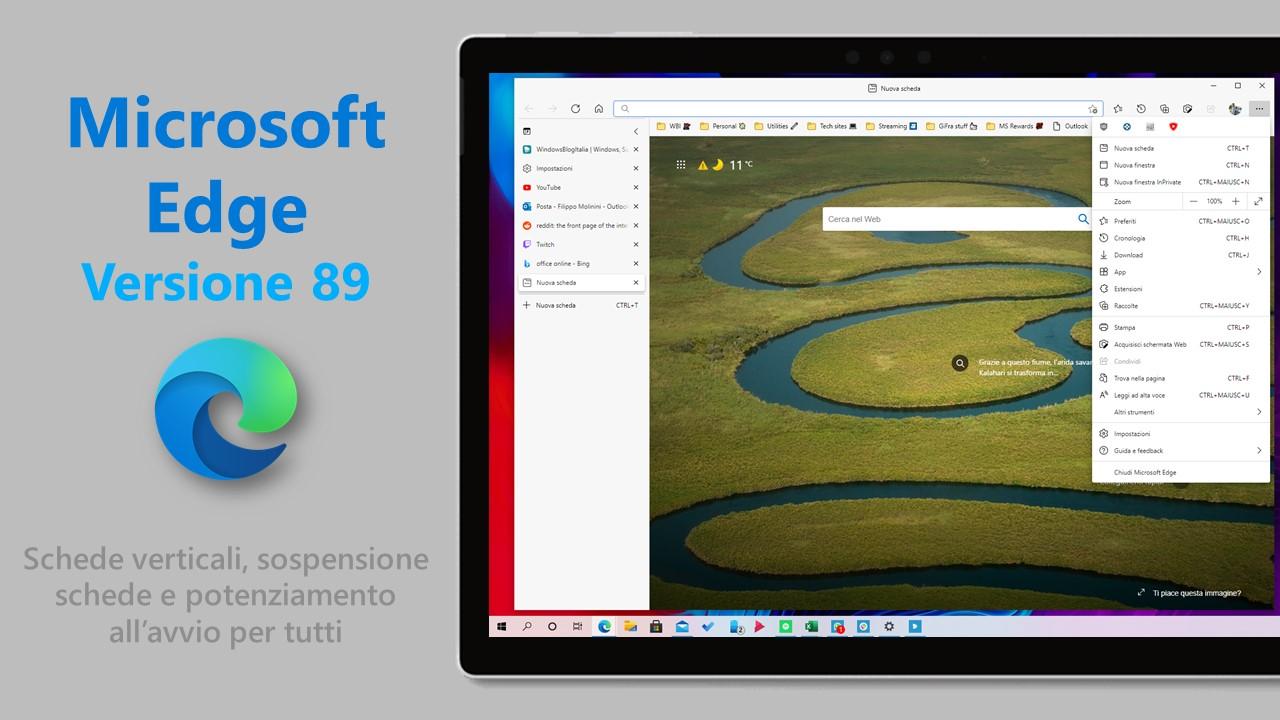 Microsoft Edge 89
