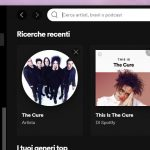 Nuova esperienza e interfaccia utente di Spotify - Windows 10 - Ricerca