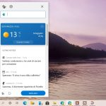 Widget Notizie e interessi di Microsoft Edge