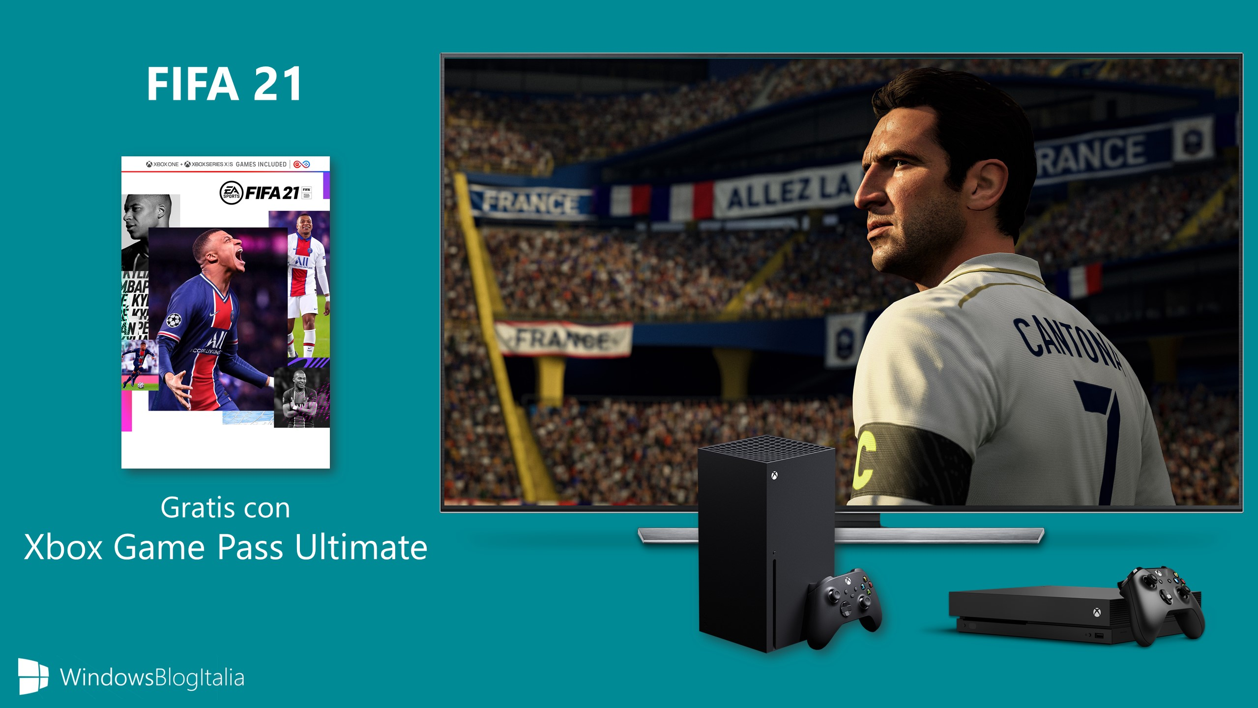 FIFA 21 gratis - Xbox Game Pass Ultimate