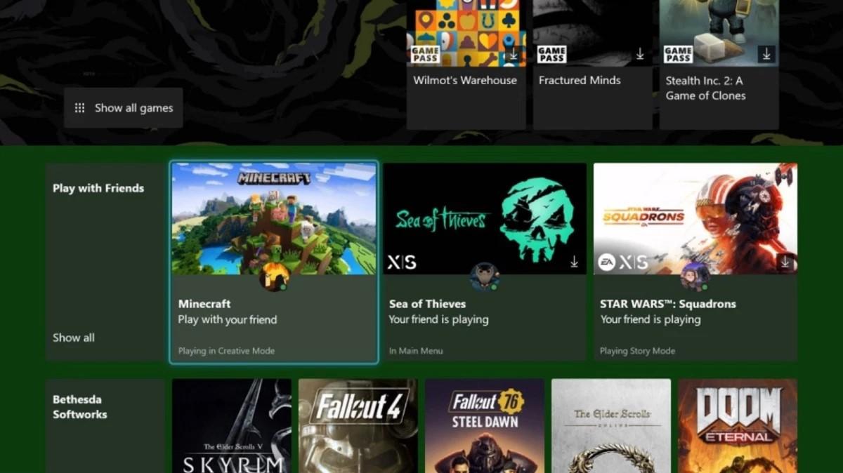 Gioca a un titolo Xbox Game Pass con amici