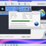 WinX DVD Ripper - Conversione in corso