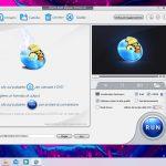 WinX DVD Ripper - Interfaccia grafica pagina principale
