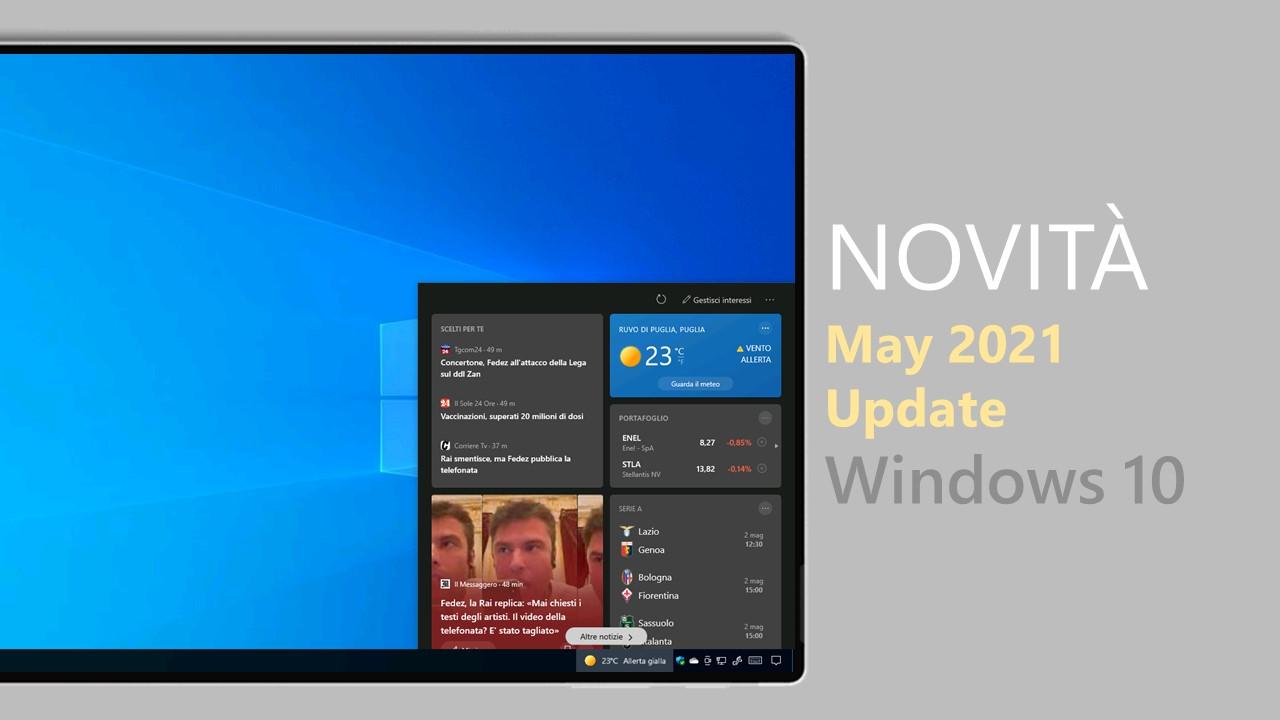 Windows 10 May 2021