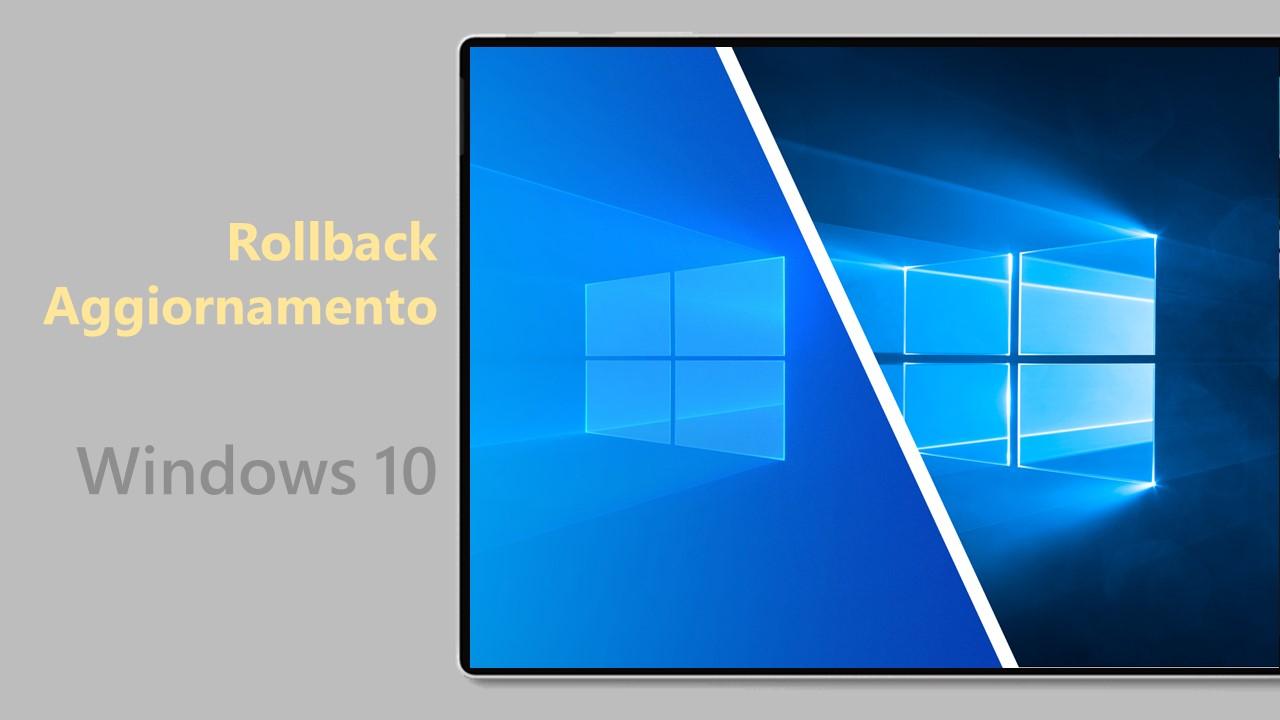 Windows 10 May 2021 Update - Rollback