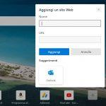 Microsoft Edge - Aggiunta di un nuovo collegamento rapido alla pagina Nuova scheda