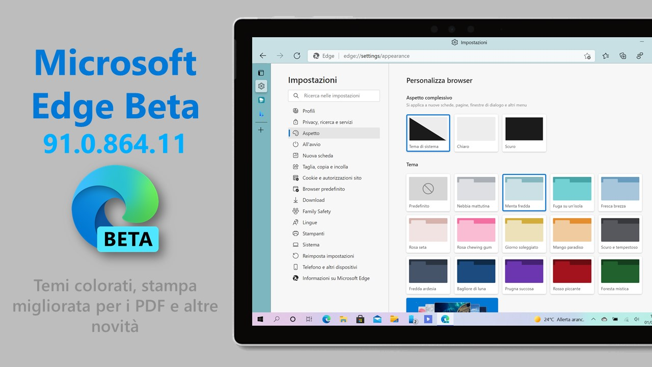 Microsoft Edge Beta - 91.0.864.11