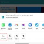 Microsoft Edge Canary per Android - Opzione screenshot nella condivisione