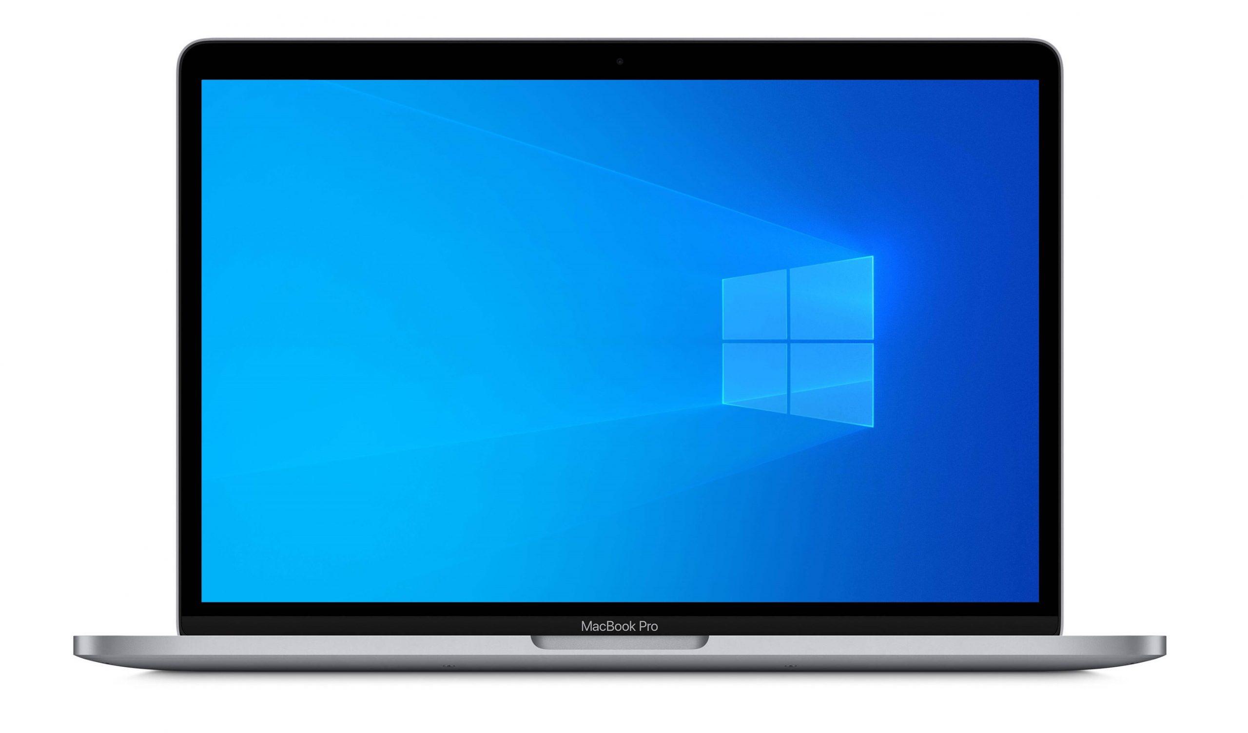 Apple MacBook con Windows 10