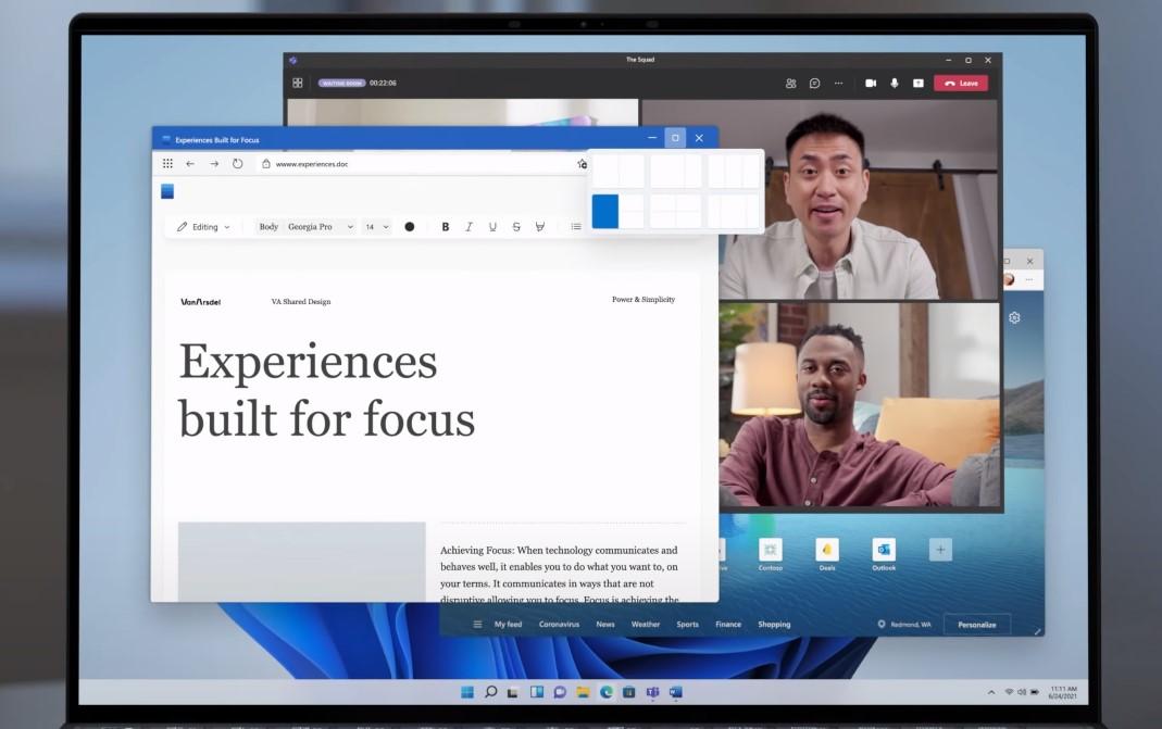 Microsoft 365 su Windows 11 - Nuovo design per le app della suite di Office