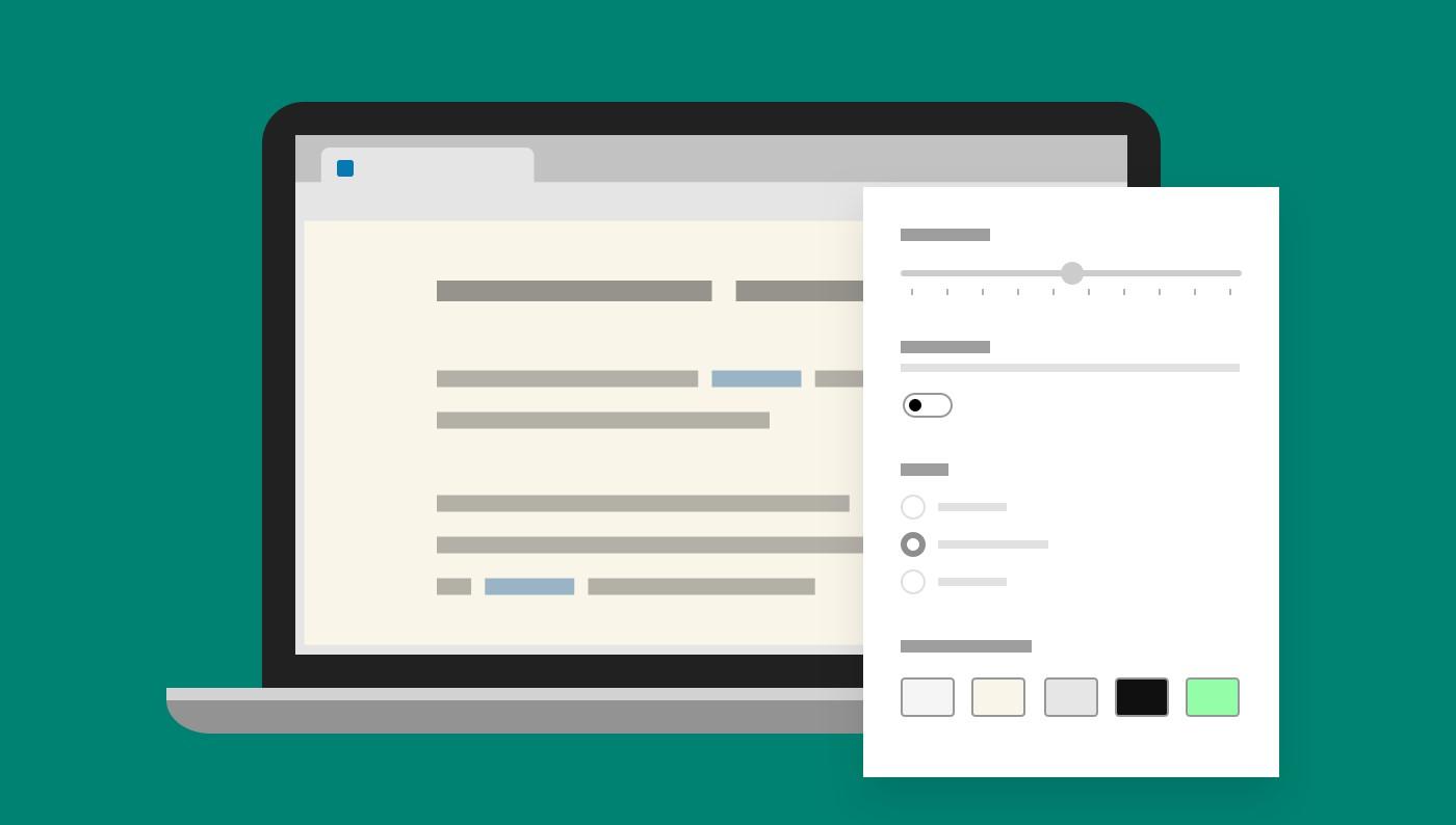 Microsoft Edge - Modifica font in Strumento di lettura immersiva