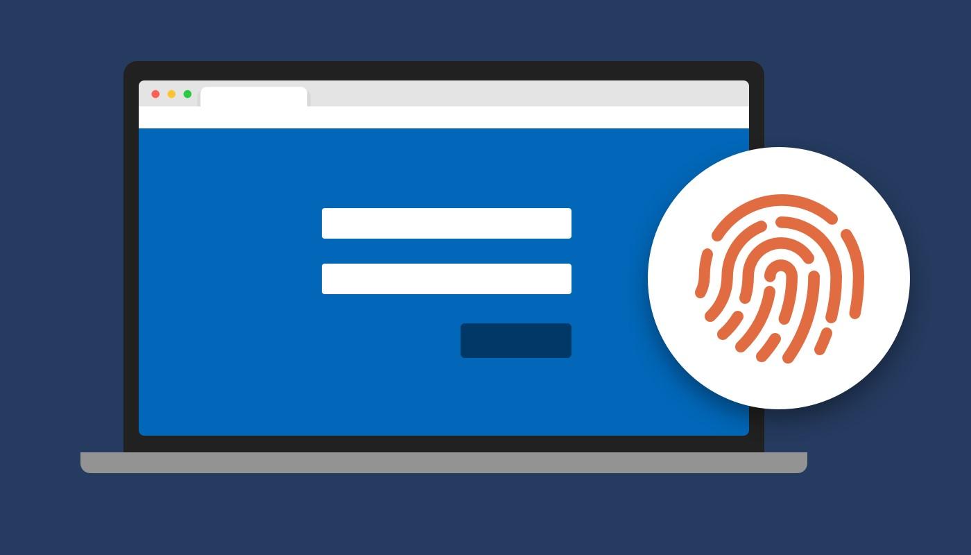 Microsoft Edge - Visualizzazione password tramite riconoscimento impronta digitale