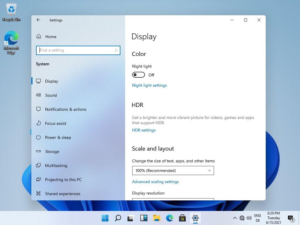 Windows 11 - Bordi arrotondati - Leak